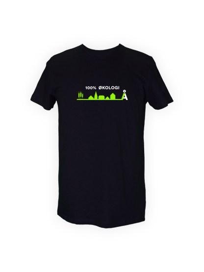 t-shirt-med-tryk-100-procent-oekologi-sort