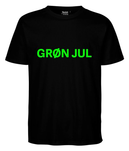 neutral-oekologisk-unisex-t-shirt-sort-groen-jul