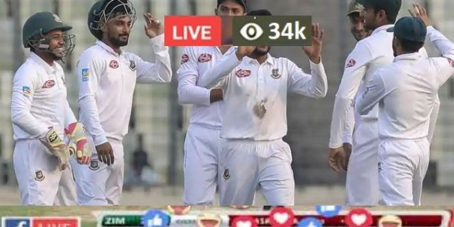 Bangladesh vs Zimbabwe Live Test Cricket Live