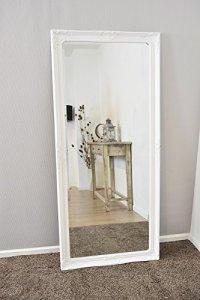 Large White Bevelled Full Length Dressing Wall Mirror 5Ft6 ...