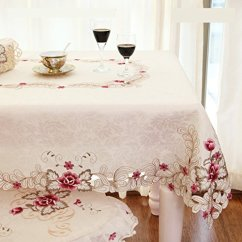 Kitchen Rugs And Mats High Flow Faucet Aerator Fadfay Home Textile,elegant Embroidery Table Cloth,modern ...