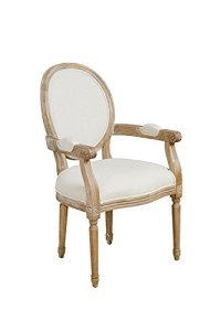 MY-Furniture  French Louis Style shabby chic OAK Oval ...