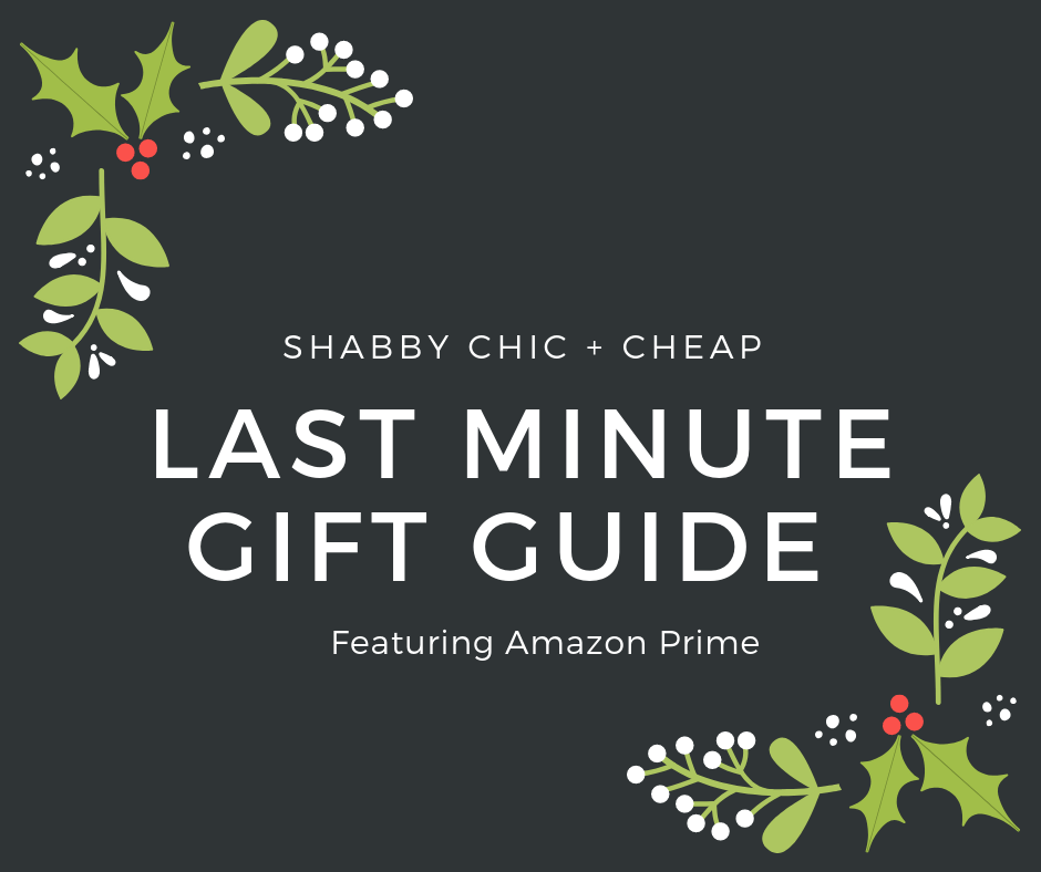 Last Minute Gift Guide w/Amazon Prime