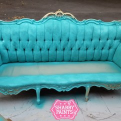 Can I Spray Paint My Leather Sofa Raymour And Flanigan Sectional Painting Fabric With Chalk Shabby