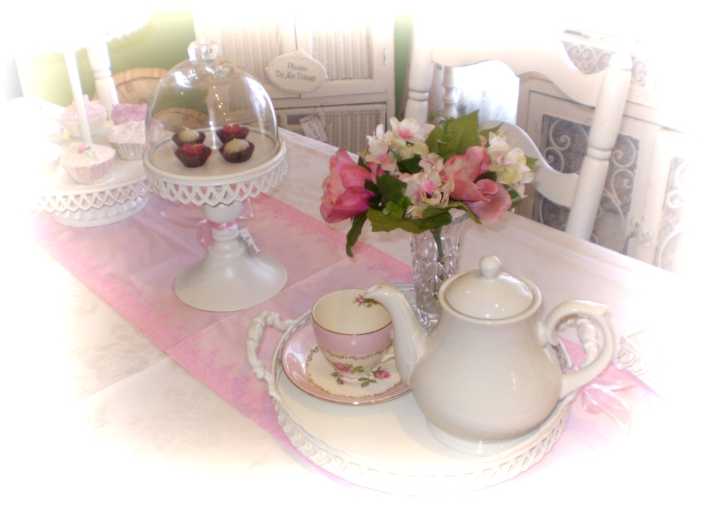 From All Things Shabby To Chic Tea Party