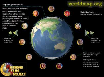 Worldmap Site Image