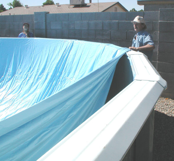How to Install an Above Ground Pool Liner