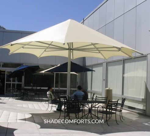 patio shade umbrellas commercial