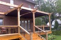 pergola plans attached to house freefreewoodplans