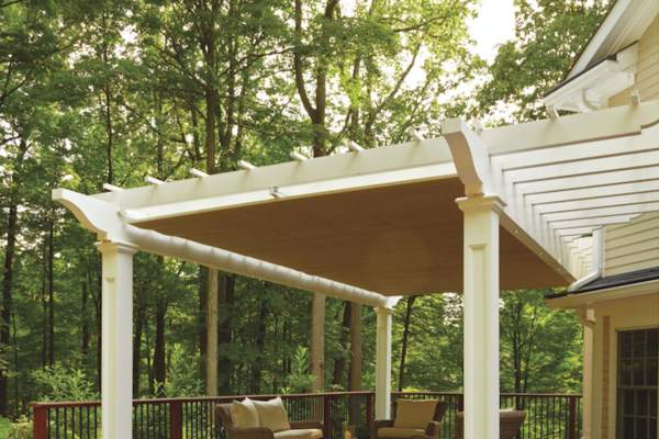 Attached Pergola Design Plans