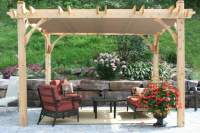 Fabric Shade Canopy - Home Decorating Ideas