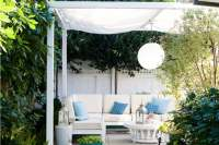outdoor canopy fabric transform your space with outdoor ...