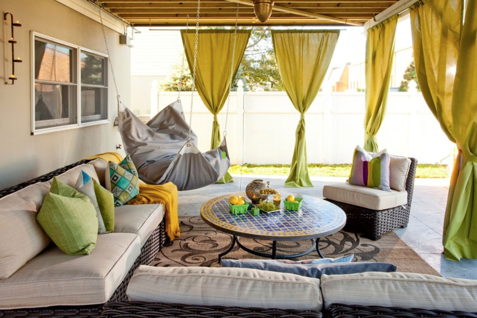 transform your space with outdoor fabrics