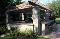Retractable Outdoor Kitchen Cover in Terrebonne | ShadeFX ...