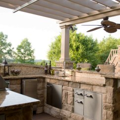 Outdoor Kitchen Covers Stove Hoods In South Hills Shadefx Canopies