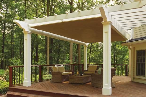 pergola retractable canopy - Pergola Retractable Canopy - Home Design Ideas