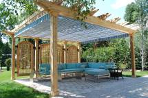Retractable Pergola Canopy In Oakville Shadefx Canopies