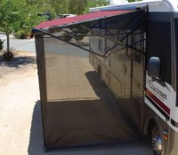 rv awning screen sides - 28 images - screen patio awnings ...
