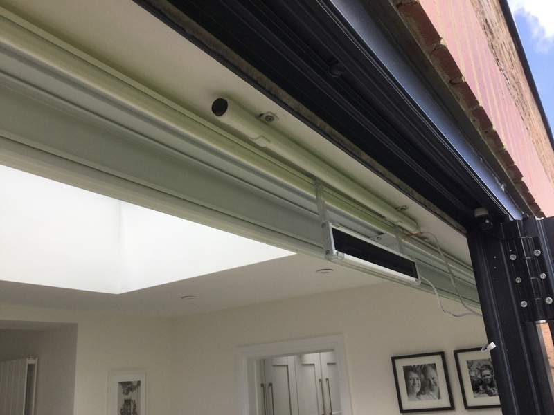 Electric Roller Blinds  Bespoke blinds Cheltenham and