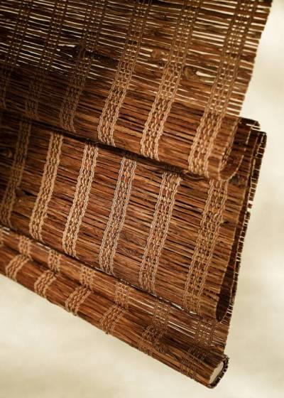 (NH) Natural Grass & Wood Shades | BAYSIDE BLIND & SHADE ...