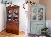 China Cabinet Makeover - Shades of Blue Interiors