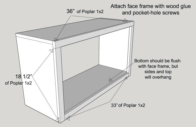 Face Frame Cabinets Plans | Frameimage.org