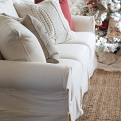 White Slipcovered Sofa Living Room Small Furniture For Sale Why You Need A Ella Claire Inspired