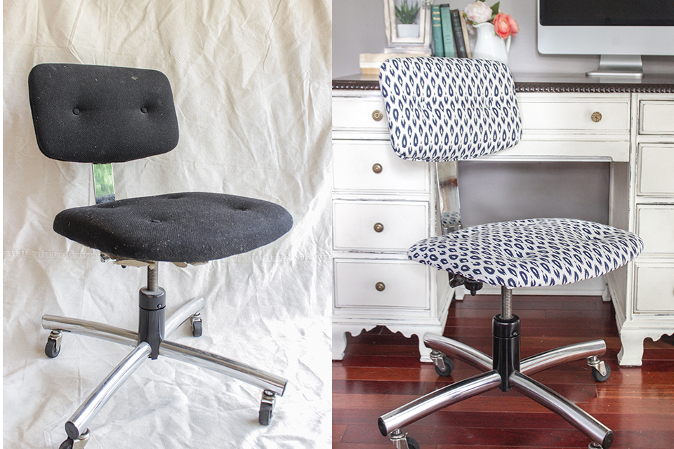 How to Reupholster an Office Chair