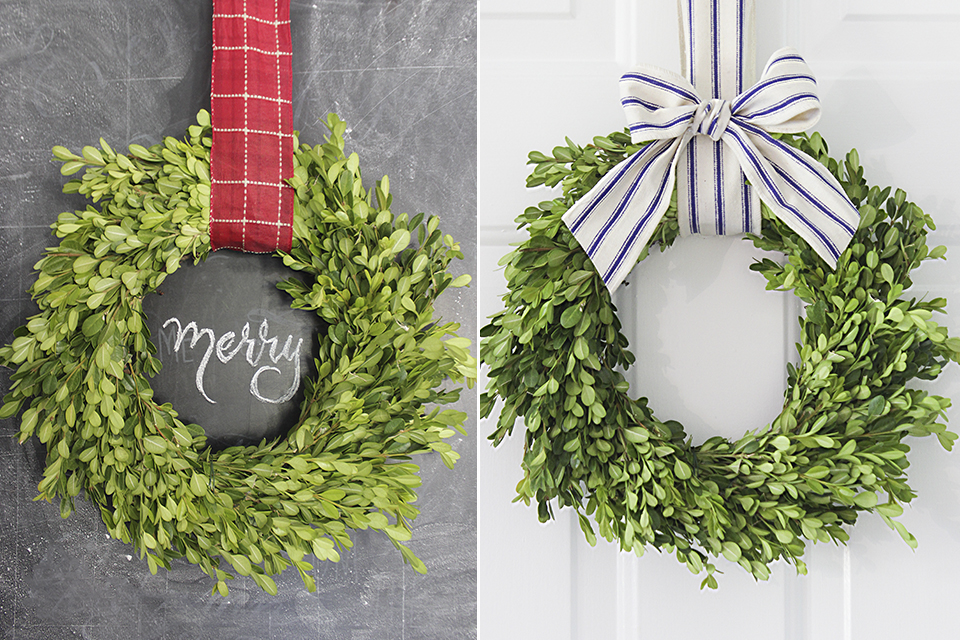 9 Ways To Use A Boxwood Wreath Tutorial