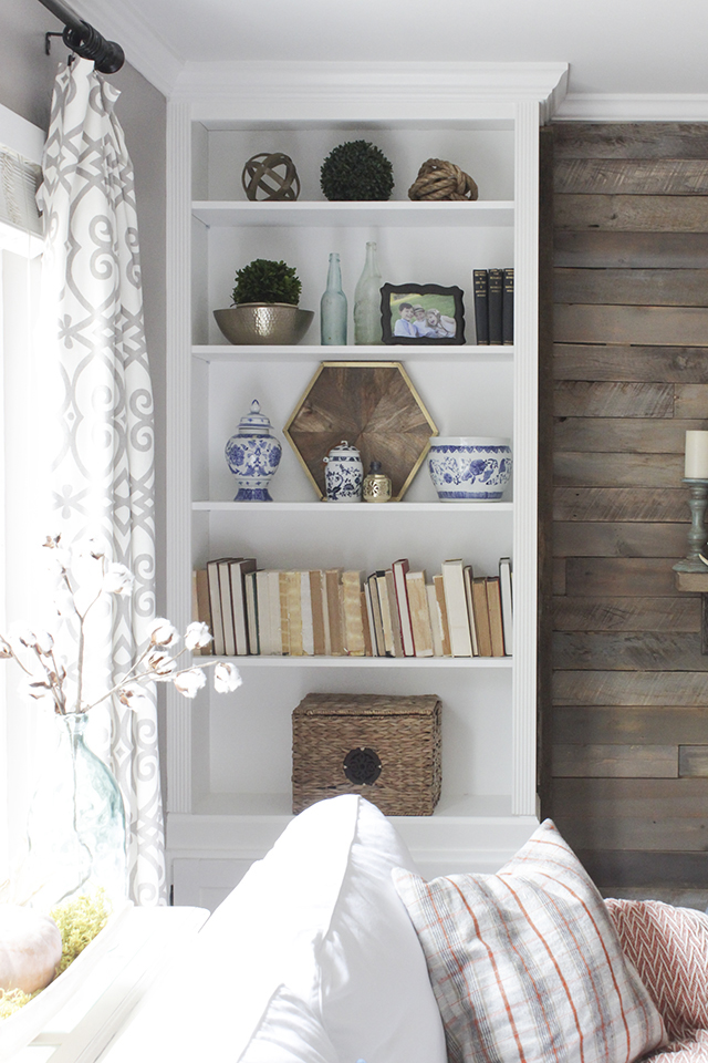 How To Convert Bookcases Into Built Ins