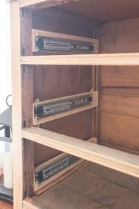 How to Install Drawer Slides on a Vintage Dresser - Shades ...