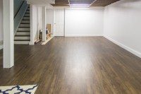 New Basement Flooring - Shades of Blue Interiors
