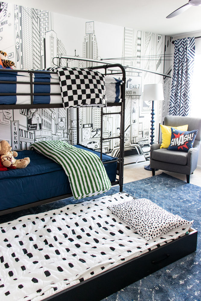 the coordinated zip up bedding you