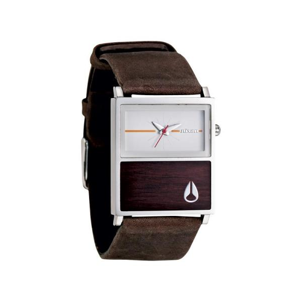 Nixon Chalet Leather A576 1408 Watch - Shade Station