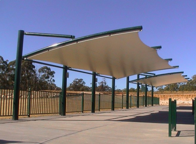 Shade sails shade structures tension structures architectural membrane structures ask for a