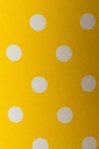 Yellow Polka-Dot Lampshade - Shade Studios