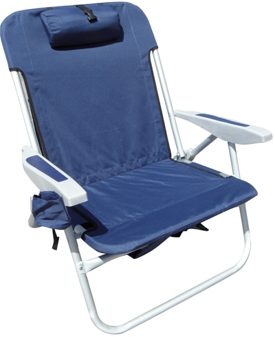 portable beach chair fold away table and chairs white rio brands extra wide backpack sc537