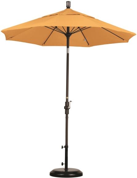 7 5 sunbrella a patio umbrella crank lift collar tilt fiberglass ribs