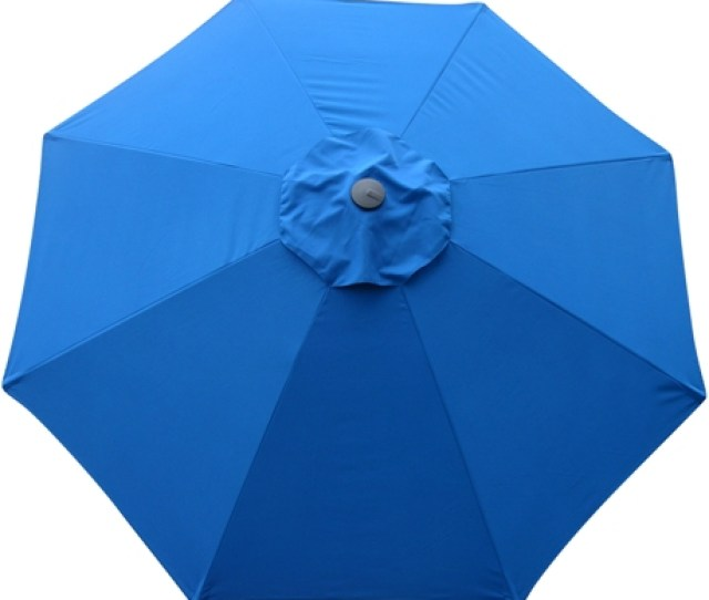 Umbrella Replacement Canopy 8 Ribs Pacific Blue Protexture