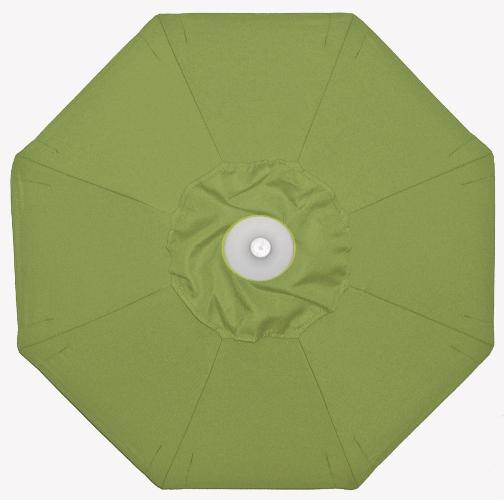939 Foot Sunbrella Patio Umbrella with Sunbrella Canopy