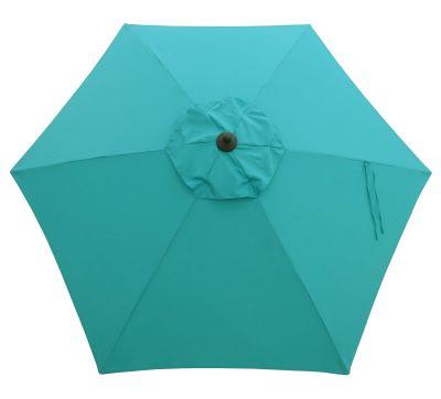 9 umbrella replacement canopy 6 ribs