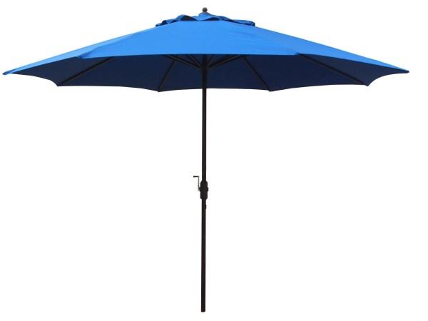 11' Foot Aluminum Patio Umbrella Commercial Grade