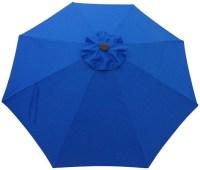11' Foot Aluminum Patio Umbrella with Auto Tilt - ShadeUSA