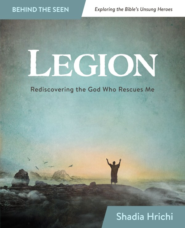 LEGION: Rediscovering the God Who Rescues Me book cover