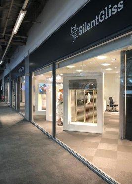 Silent Gliss Business Centre London - Entrance
