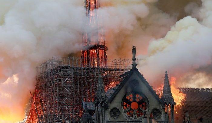 Holy Week, Unholy War: Media Hides Muslim Burning of Notre