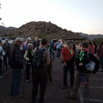 Lots of hikers!