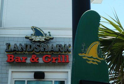 Lunch at the Landshark!