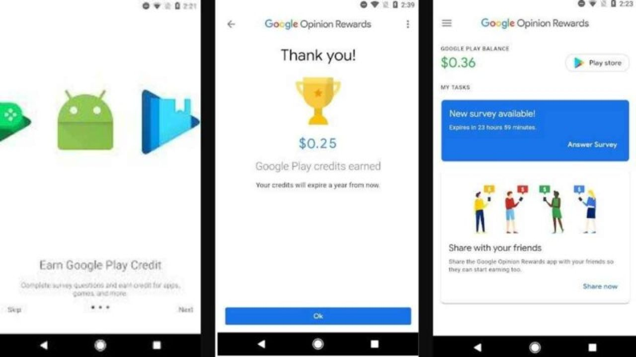 How to get Free UC In PUBG Mobile from google opinion rewards
