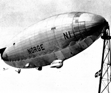 The airship NORGE